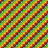 Seamless Colorful Dot Pattern