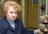 picture of relay  - Operator woman - JPG