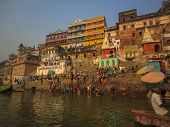 Ganges Holy Bath In Varanasi