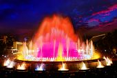Montjuic Fountain.