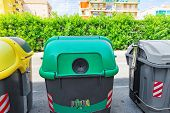 pic of dumpster  - Variety dumpsters - JPG