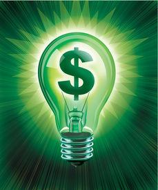pic of save money  - Digital illustration concept of saving money - JPG