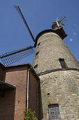 image of windmills  - The windmill Ovenstaedt  - JPG