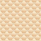 foto of quilt  - Texture imitating pink quilted fabric with flowers - JPG
