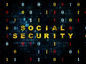 picture of social-security  - Safety concept - JPG