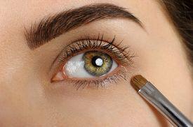 stock photo of eyebrows  - Make - JPG