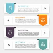 Постер, плакат: Vector Colorful Info Graphics For Your Business Presentations