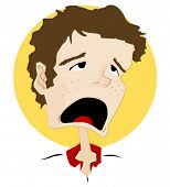 Expressions Icon: Whining - Vector
