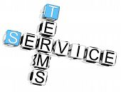 Service Terms Crossword