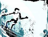 Surfer Grunge fondo
