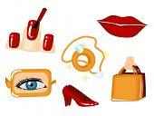 Fashion Icons - Vector