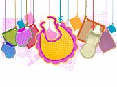 Baby Items - Vector
