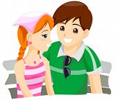 Young Couple - Vector