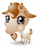 Jonge Goat - Vector