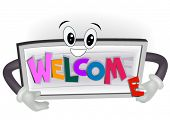 Welcome Sign - Vector