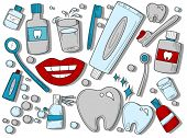 Dental Icons - Vector