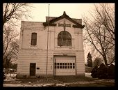 picture of firehouse  - this is a local firehouse that is no longer in use - JPG