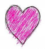 Bosquejo de corazón