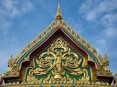 Buddha's Gate of Thai temple