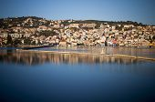 Scenic City of Argostoli in Greece