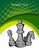 vector illustration of chess
