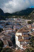 Pueblo andaluz encalado