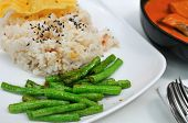Healthy Unpolished Rice Set poster