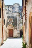 pic of salvatore  - Church San Salvatore in Syracuse Italy in summer day - JPG
