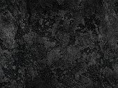 Natural Black Volcanic Seamless Stone Texture Venetian Plaster Background. Dark Volcanic Rock Veneti poster