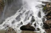 waterfall in gorge Kitzlochklamm - National Park Hohe Tauern, Austria poster