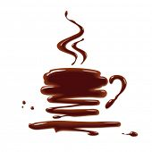 picture of hot-chocolate  - Chocolate cup - JPG