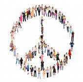 Diversity Symbol Antiwar