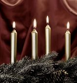 Xmas Holiday Candles