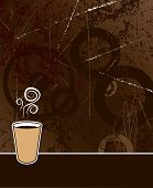 Coffee Background.Eps
