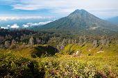 image of gunung  - Gunung Merapi Volcano on Java Island in Indonesia - JPG