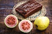 Guava Jam, With The Name Of Guava, A Typical Brazilian Sweet Common In The State Of Minas Gerais. Ho poster
