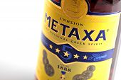 Metaxa Bottle Detail