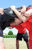 Rugby Gedränge