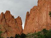 Towering Red Rocks