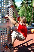 Young Rock-Climber