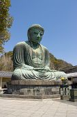 Great Buddha Statue Of Kamakura Town, Japan