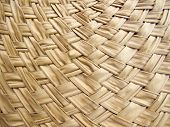 Texture Of Bamboo Weave Curve