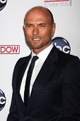 LOS ANGELES - FEB 26:  Luke Goss arrives at the ABC's Red Widow event at the Romanov Restaurant Lounge on February 26, 2013 in Studio City, CA