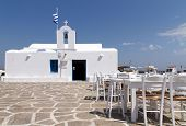 restaurant taverns in greek island
