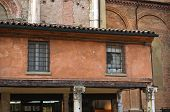stock photo of ferrara  - Loggia of the Merchants - JPG
