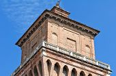 foto of ferrara  - The Este Castle - JPG