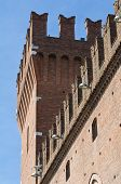 stock photo of ferrara  - Building Town Hall of Ferrara - JPG