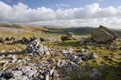 Norber Erratics In Yorkshire Dales National Park