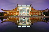 TAIPEI - JANUARY 14: Sun Yat-Sen Memorial Hall January 14, 2013 in Taipei, Taiwan. Sun-Yat Sen is co