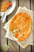 Chicken and Vegetables Pot Pie